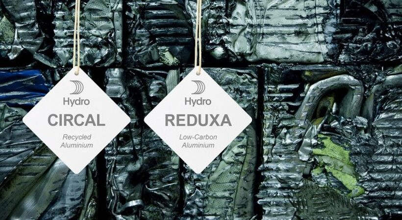 New greener brands CIRCAL and REDUXA set a new standard for low-carbon and recycled aluminium