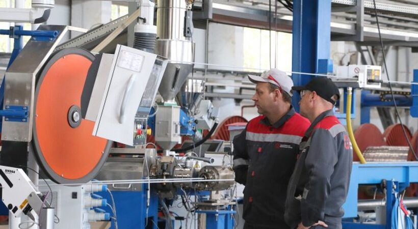 RUSAL and the ELKA-Cable Company have started a joint venture, the Bogolsovsk Cable Factory (BCF).
