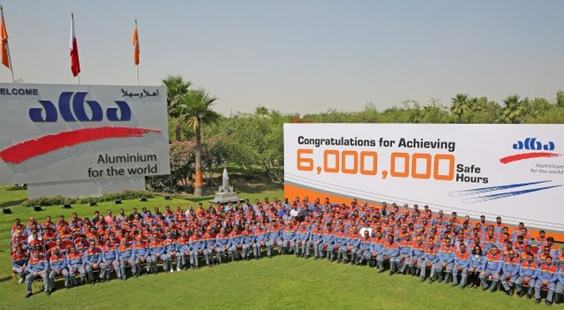 Alba achieves historical milestone of 6 million work-hours without LTI