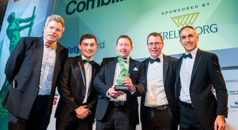 Combi-PPT wins safety award