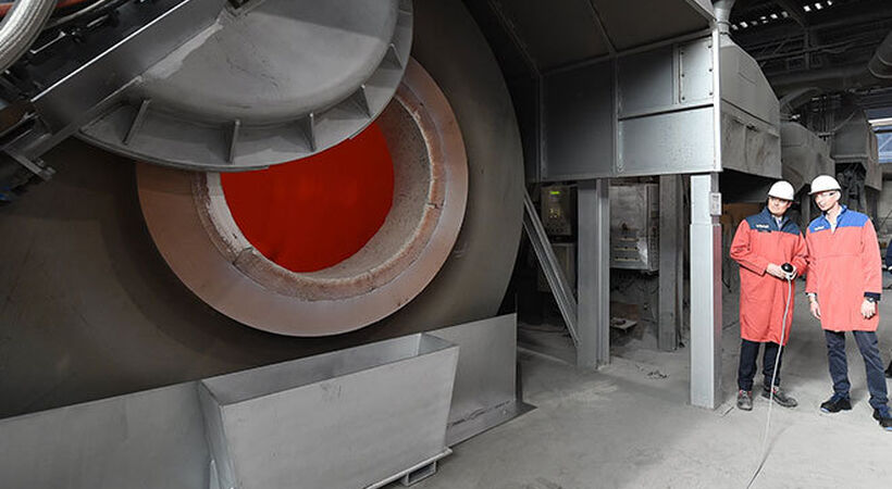 TRIMET puts new recycling furnace into operation
