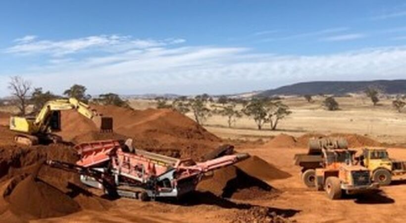 Australian Bauxite Limited commences mining operations at Bald Hill Bauxite Project