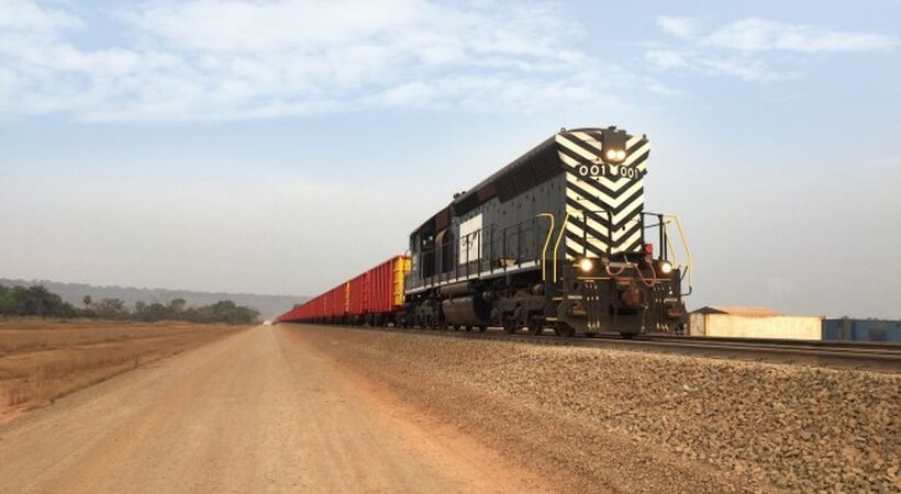 EGA: First bauxite train