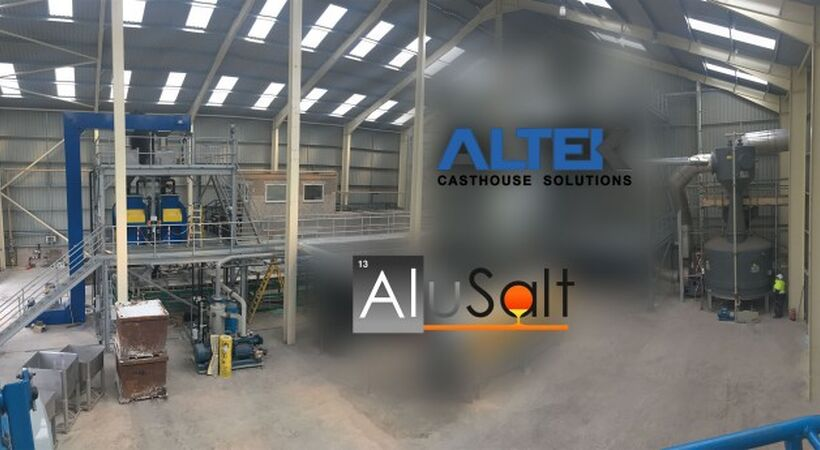 ALTEK launches AluSalt