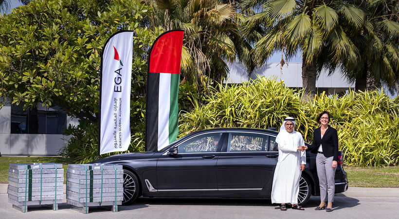 EGA to significantly increase supply of UAE-made metal for use in German car group's engines