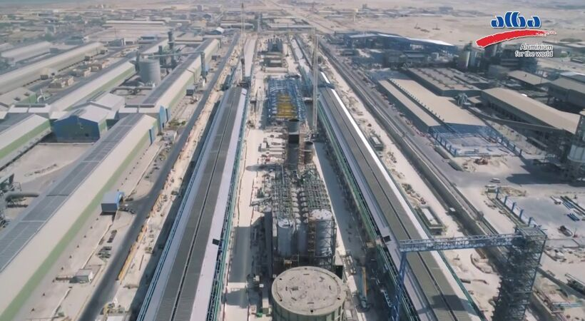 Bahrain King inaugurates Alba's Line 6 expansion project