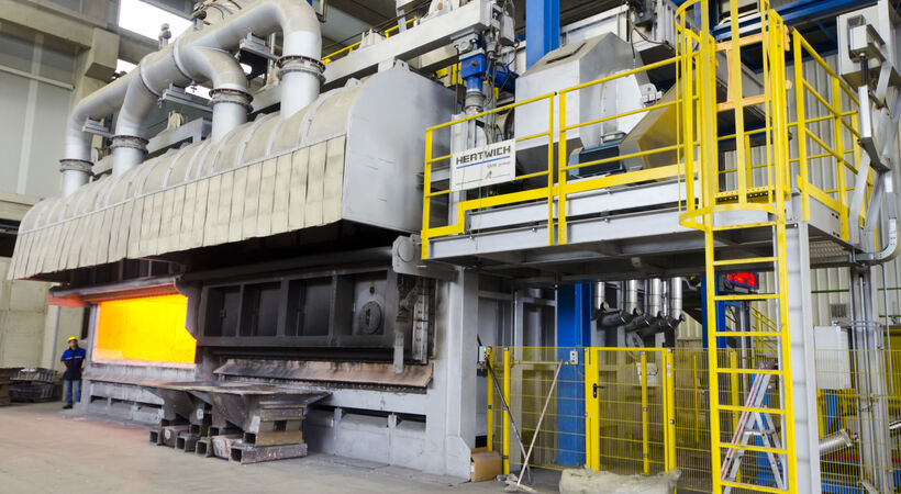 Otto Fuchs orders aluminium multi chamber melting furnace from Hertwich
