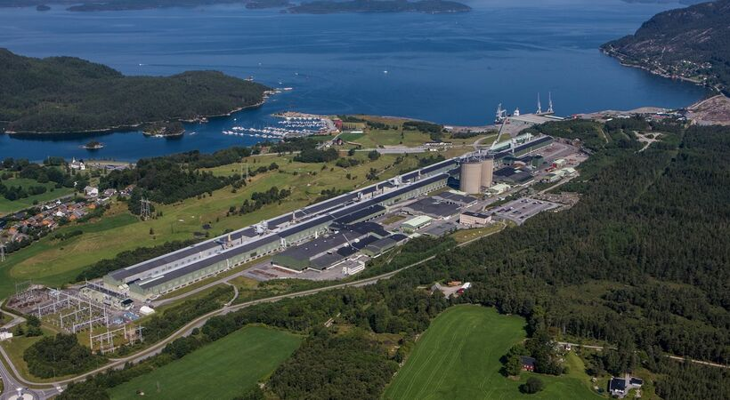 Hydro postpones restart of Husnes plant