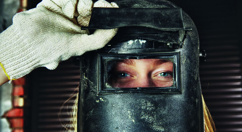 Attracting more women to a career in welding