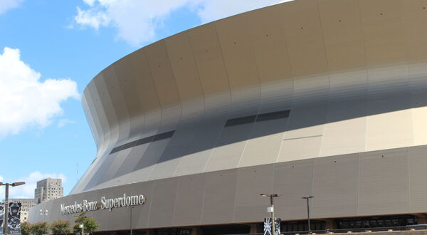 Lorin supplies innovative anodized aluminium for exterior of restored Superdome