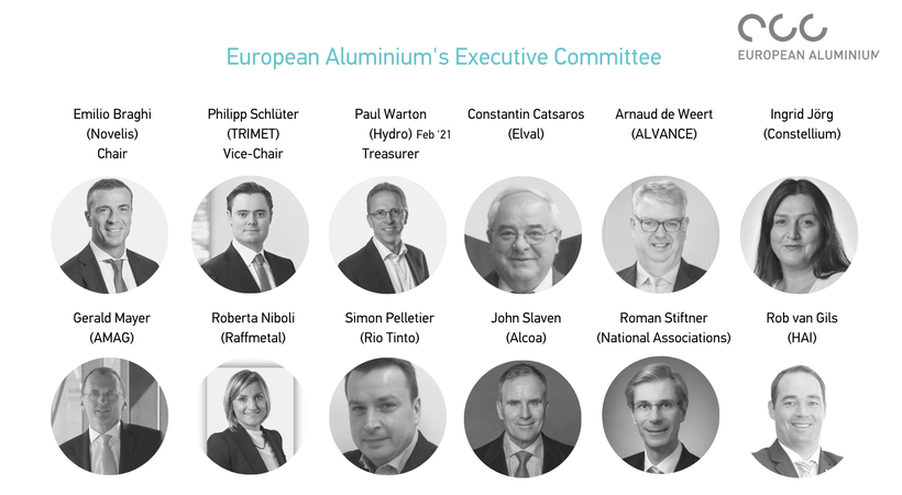 Emilio Braghi re-elected as Chair of European Aluminium