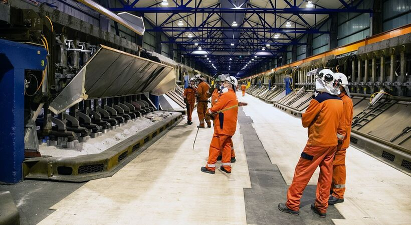 Production restarts at the Hydro Husnes B-line