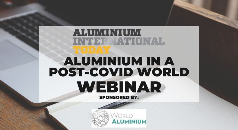 To delve further into the report's findings, Aluminium International Today will host a webinar with the report authors and the International Aluminium Institute. What does a post-Covid aluminium industry look like? Will the metal still play a key role in the global circular economy? Which sectors are like to be worst hit by the pandemic? Ultimately, will the industry survive the crisis?  We'll be exploring these and many more on the webinar.