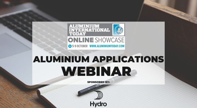 This webinar will focus on the benefits and solutions behind aluminium applications in automotive, aerospace, construction and packaging.