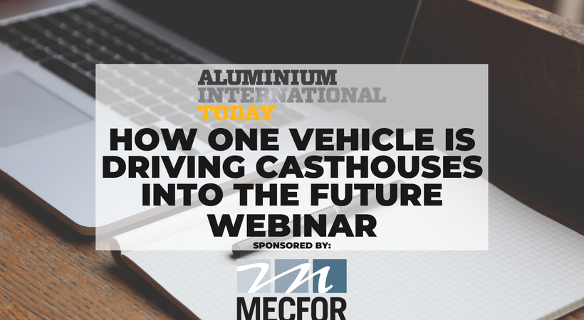 Following on from the success of the Future Aluminium Forum Digital Event, this series of webinars highlights the main areas of development in digital manufacturing.  In this webinar, we focus on 'Optimizing Production' and hear from speakers about the benefits of digitalisation when it comes to streamlining operations.
